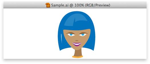 head illustration